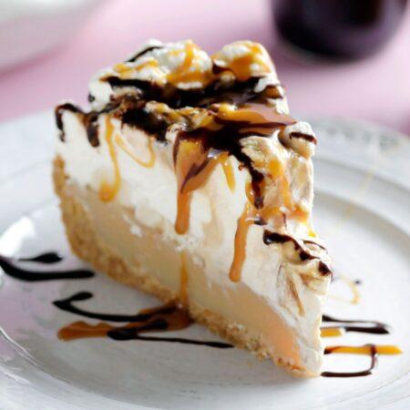 skinny banoffee pie