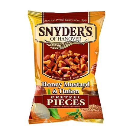 snyders honey mustard onion