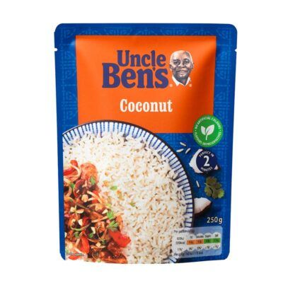 uncle bens coconut rice