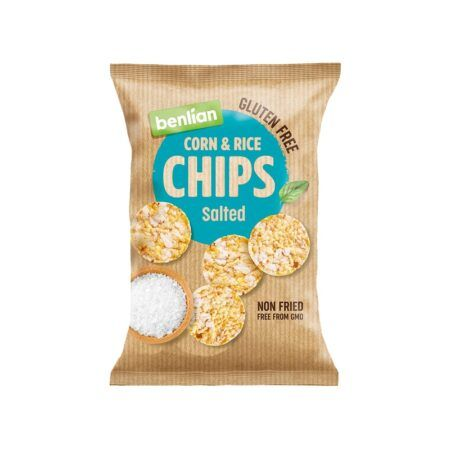 benlian rice chips salted