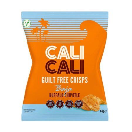 cali cali guilt free crisps baja buffalo chipotle g