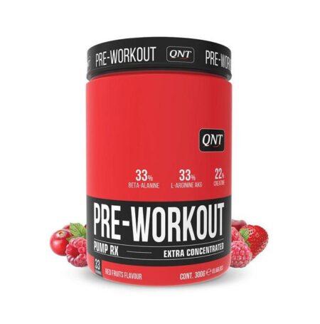 qnt pre workout pump rx