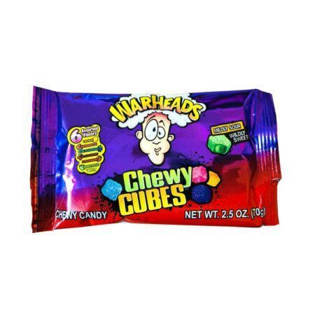 Warheads Chewy Cubes g