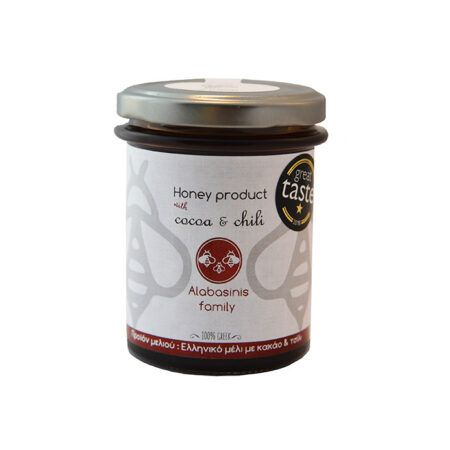 alabanisis honey with cocoa chili