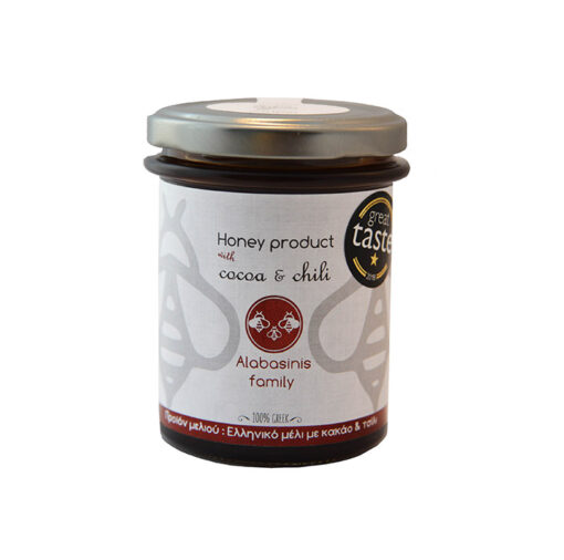 alabanisis honey with cocoa chili