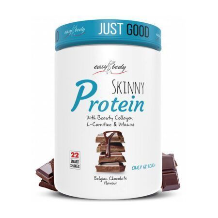 easy body skinny protein belgian chocolate
