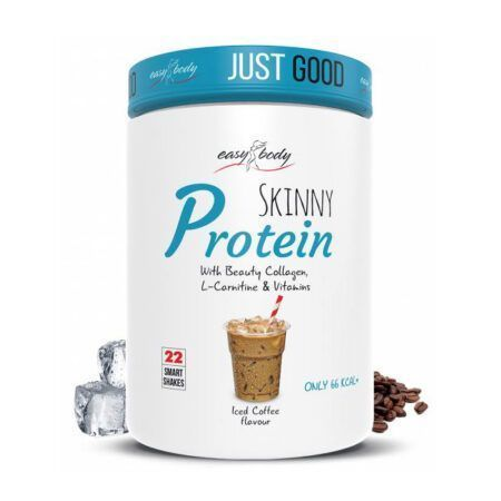 easy body skinny protein iced coffee