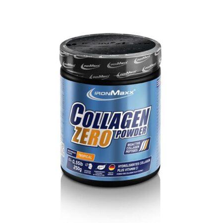 ironmaxx collagen powder zero tropical