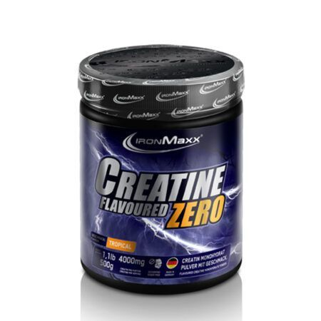 ironmaxx creatine flavoured zero g tropical