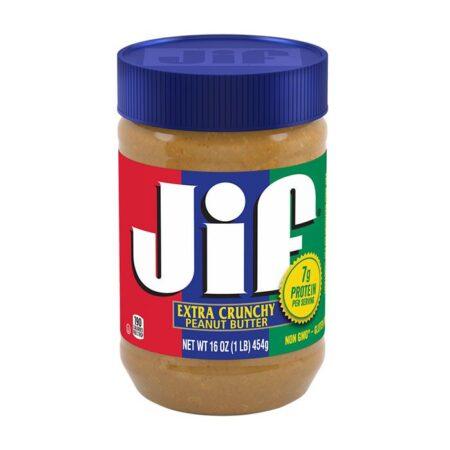 jif extra crunchy peanut butter