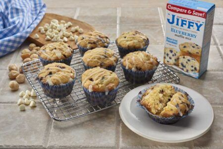 jiffy blueberry muffin mix