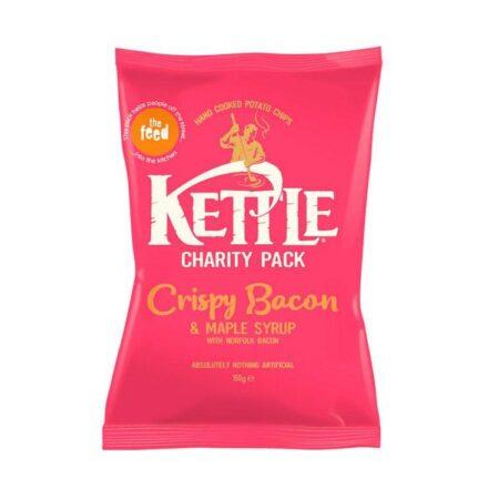 kettle crispy bacon maple syrup