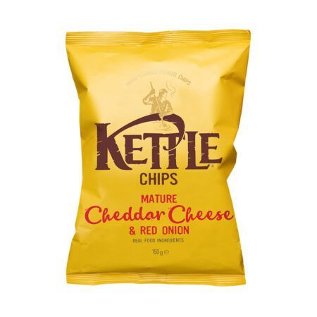 kettle mature cheddar cheese red onion