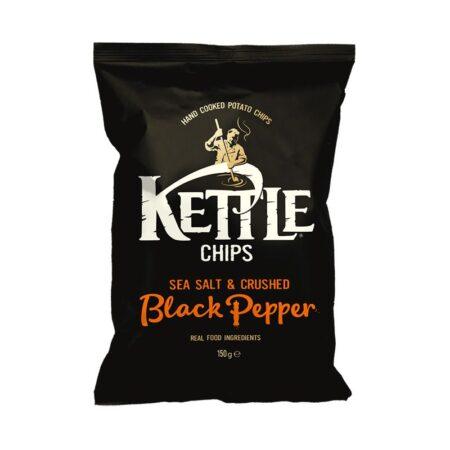 kettle sea salt black pepper