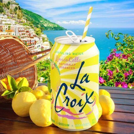 lacroix limoncello can