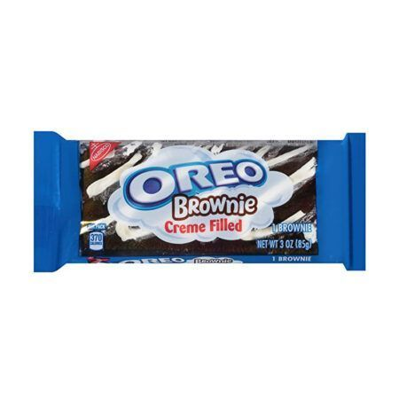 nabisco oreo creme filled brownie