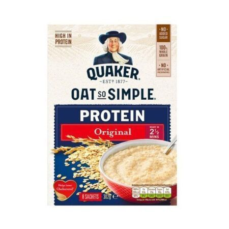 quaker oat so simple protein g