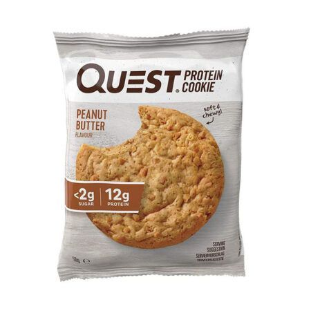quest protein cookie peanut butter