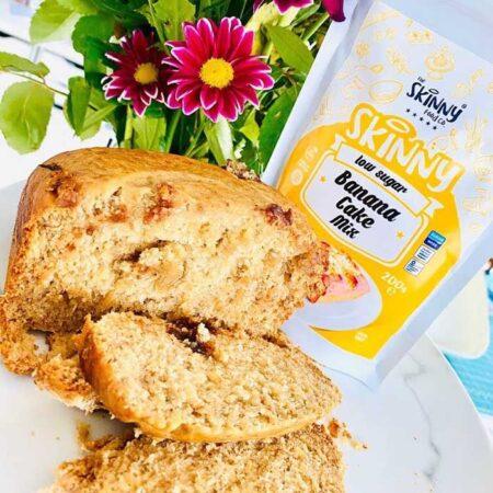 skinny banana bread cake mix