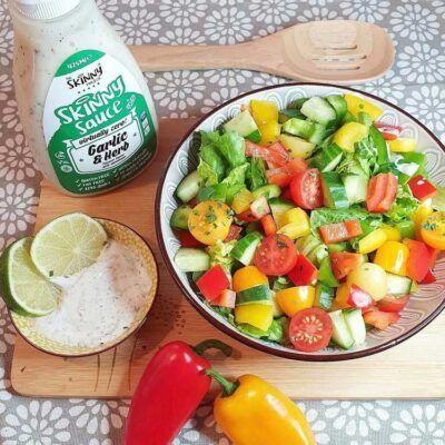 skinny garlic herb sauce 1