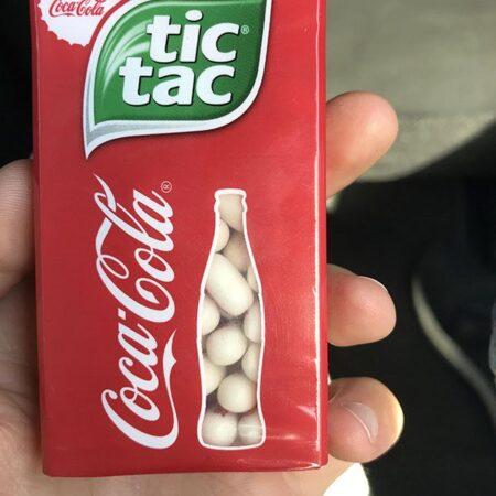 tic tac coca cola limited edition