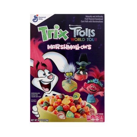 trolls world tour trix with marshmallows general mills