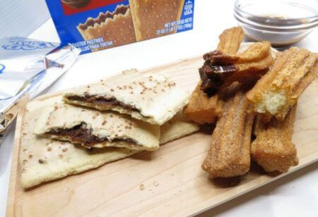Kelloggs Frosted Chocolatey Churro Pop Tarts