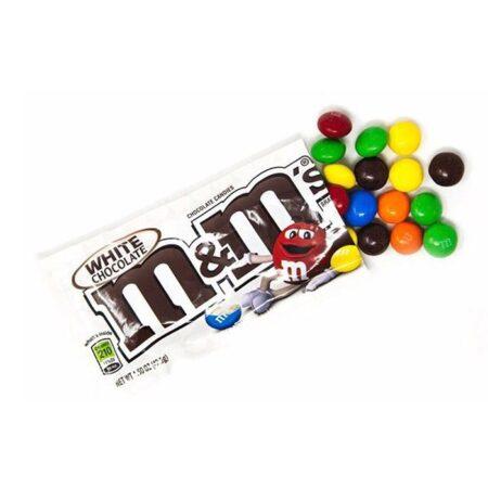 MMs white chocolate