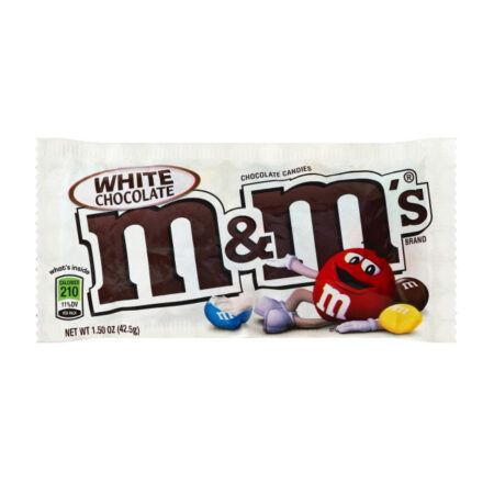 MMs white chocolate