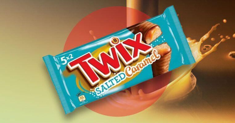 Twix salted caramel 46g 3