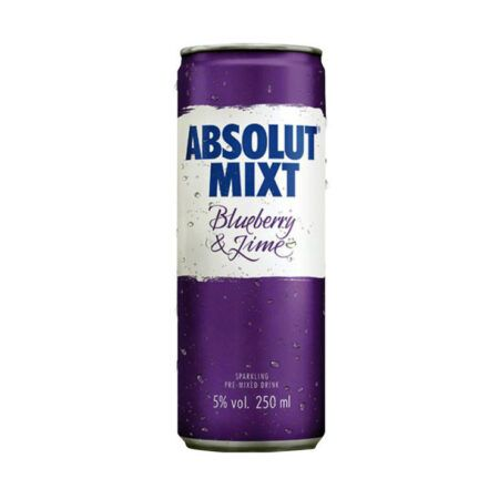 absolut mixt blueberry lime ml