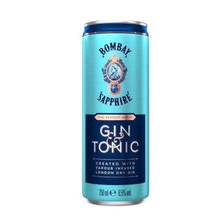bombay sapphire gin tonic