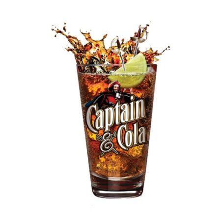 captain morgan original spiced gold cola ml