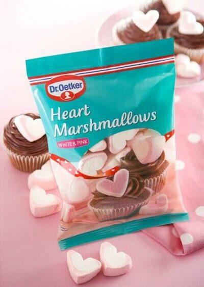 dr oetker heart marshmallows