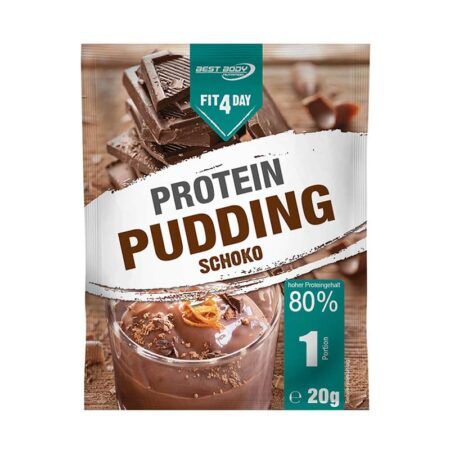 fitday chocolate protein pudding  g