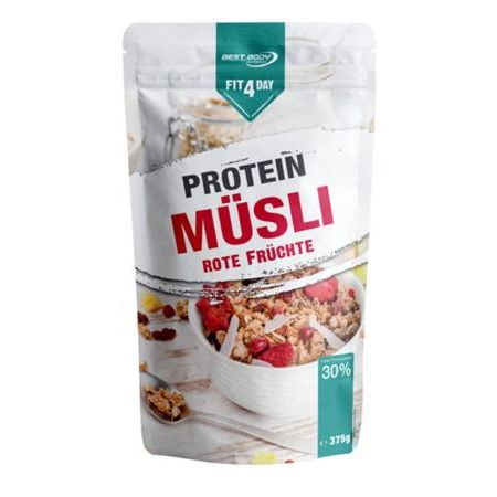 fitday protein cereal red fruits   gr
