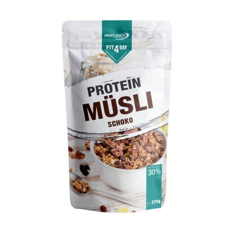 fitday protein granola chocolate
