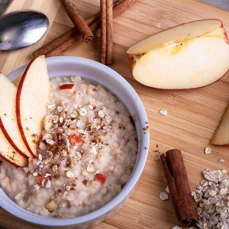 fitday protein porridge apfel zimt g