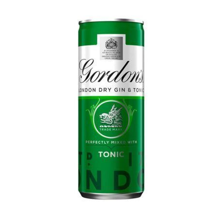 gordons dry gin tonic ml