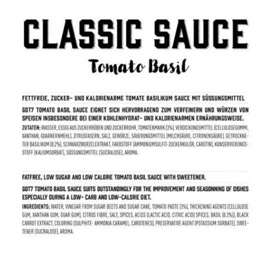got7 classic sauce 350 ml tomato basil vegan 2 facts 1