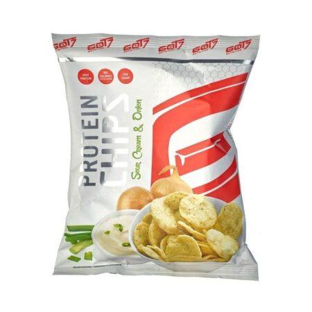 got protein chips sour cream onion g