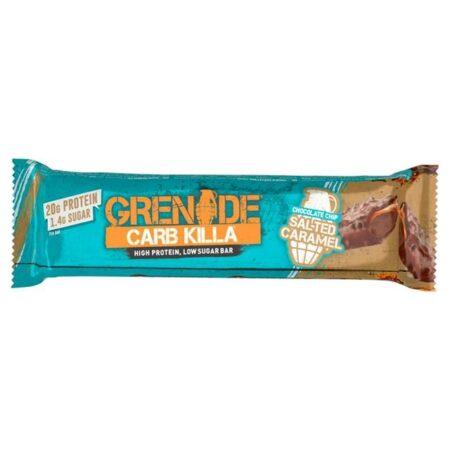 grenade salted caramel bar