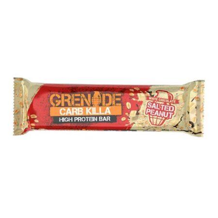 grenade white chocolate salted peanut bar