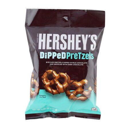 hersheys dipped pretzels