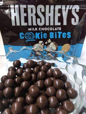 hersheys milk chocolate cookie bites 1 8oz 51g 2