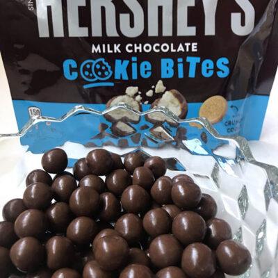 hersheys milk chocolate cookie bites  oz g