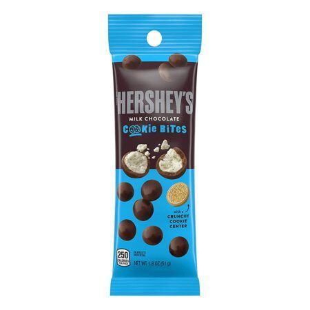 hersheys milk chocolate cookie bites  oz g