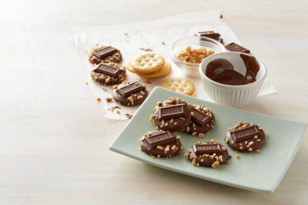 hersheys sugar free caramel filled chocolates oz g