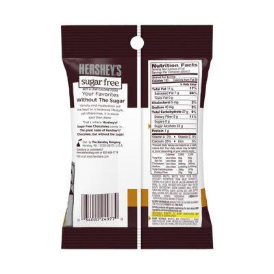hersheys sugar free caramel filled chocolates 3oz 85g facts