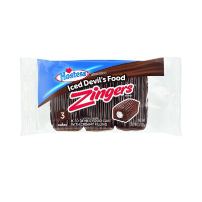 hostess iced devils food zingers